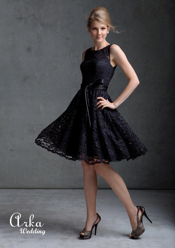 Φόρεμα Επίσημο Κοντό Δαντέλα. Κωδ. 31004