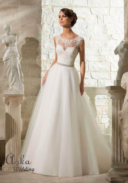5315_Νυφικό_Venice_Δαντέλα_Appliques_σε_Soft_ Tulle_Bridal_ Wedding_Dress _Front.jpg