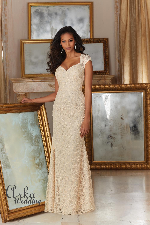 Νυφικό Elegant Beaded Lace . Κωδ. 143