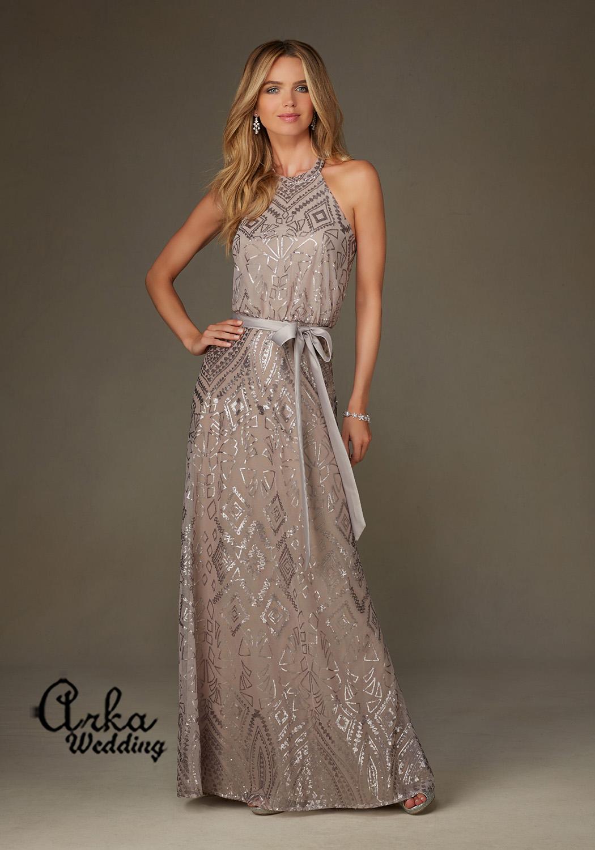 9bbc13866ba Βραδινό Φόρεμα με παγιέτες. Κωδ. 20475