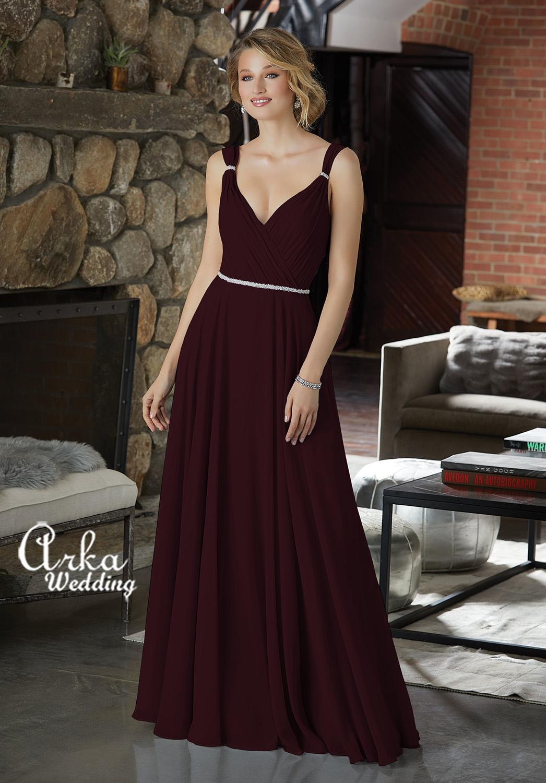 Βραδινό Φόρεμα Μακρύ με Φίνο Κέντημα. Κωδ. 21588