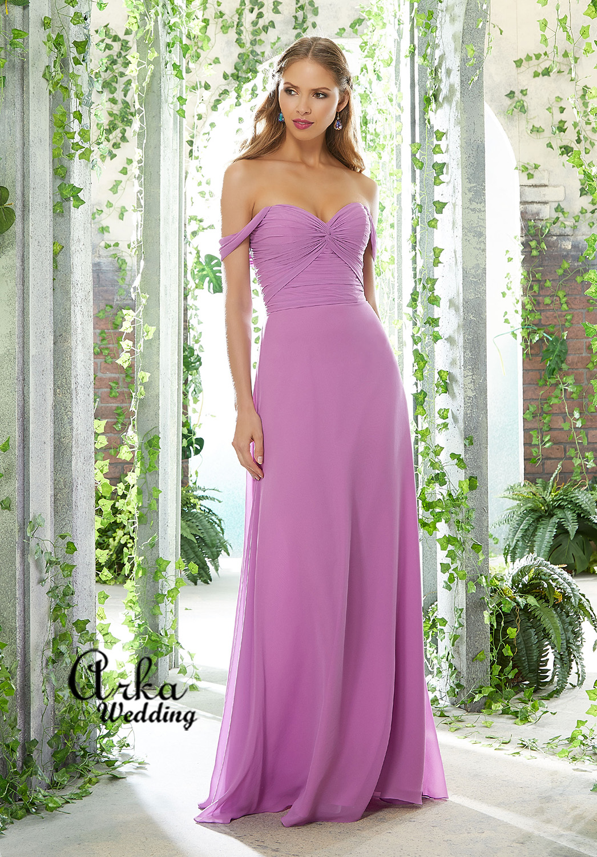 Φόρεμα Μοντέρνο Draped Μπούστο Ριχτά  Μανικάκια. Κωδ.  21618