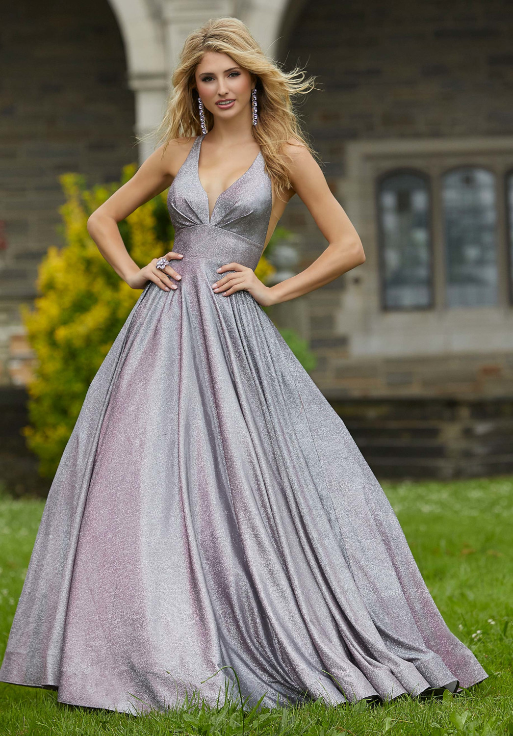 Βραδινό Φόρεμα, by Morilee, Iridescent Satin. Style. 45087