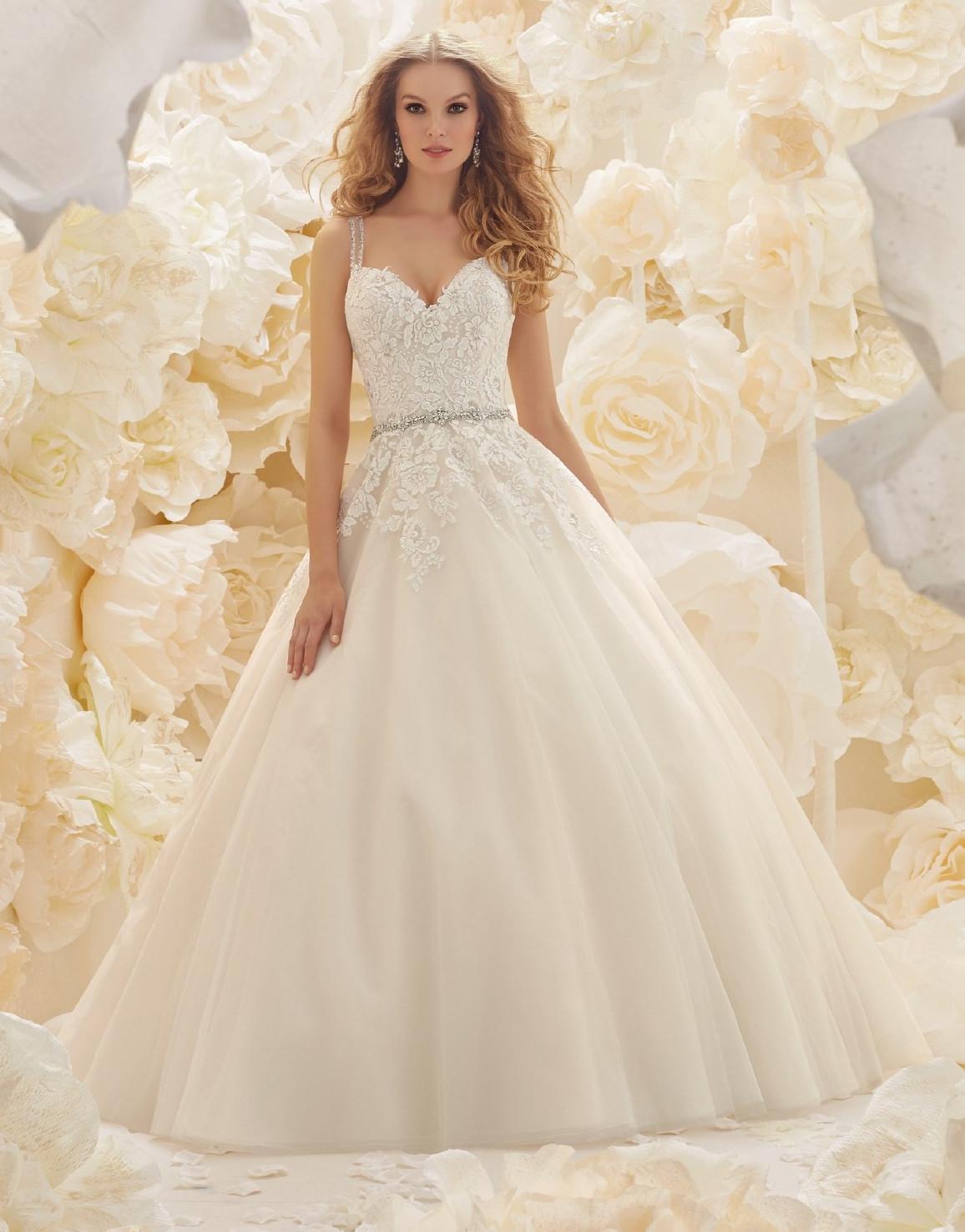 Νυφικό Φόρεμα, Sofia Bianca, με Πλούσια Φούστα, Style. 51267