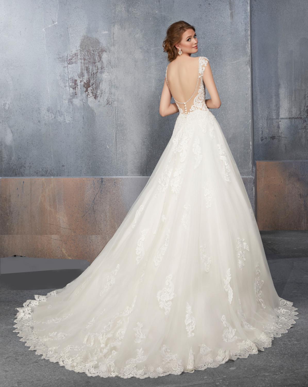 Νυφικό Φόρεμα, Madeline Garner, Μοντέρνα Πλάτη.Style,. 51507