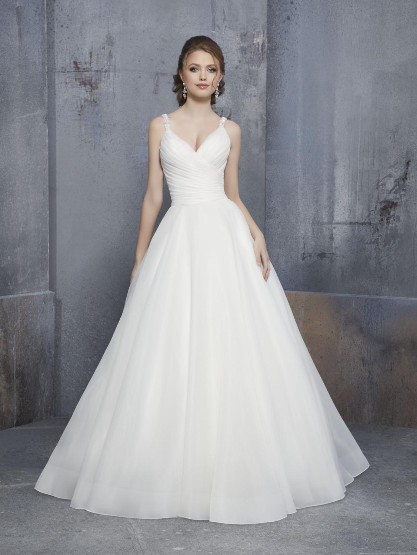 Νυφικό Φόρεμα, MGNY by Madeline Gardner, Απλό, Style. 51521