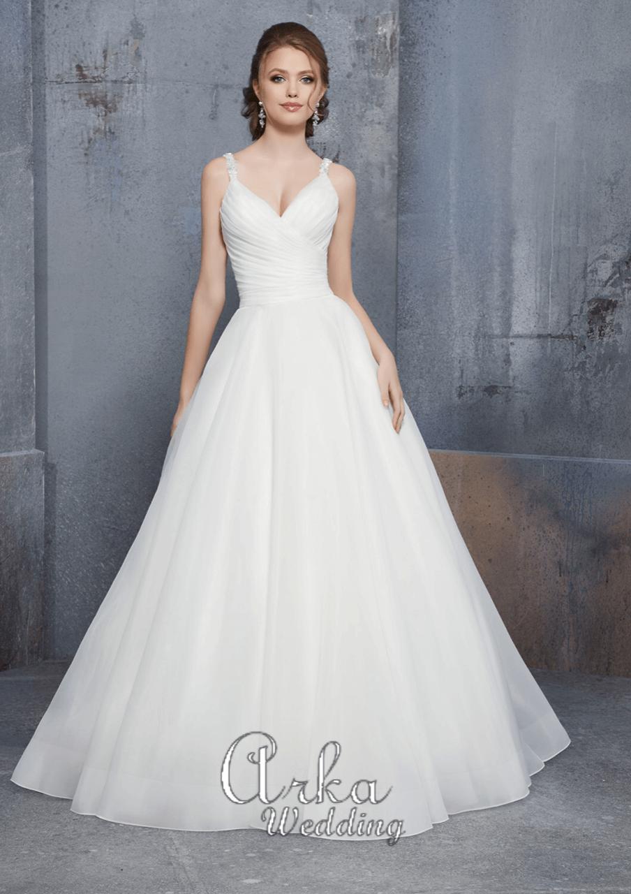 Νυφικό Φόρεμα, σε Γραμμή Άλφα. Κωδ. 51521