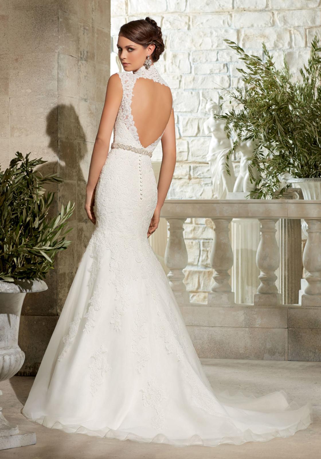 Elegant Νυφικό Φόρεμα, Morilee, Δαντέλα, Traditional. Style, 5303