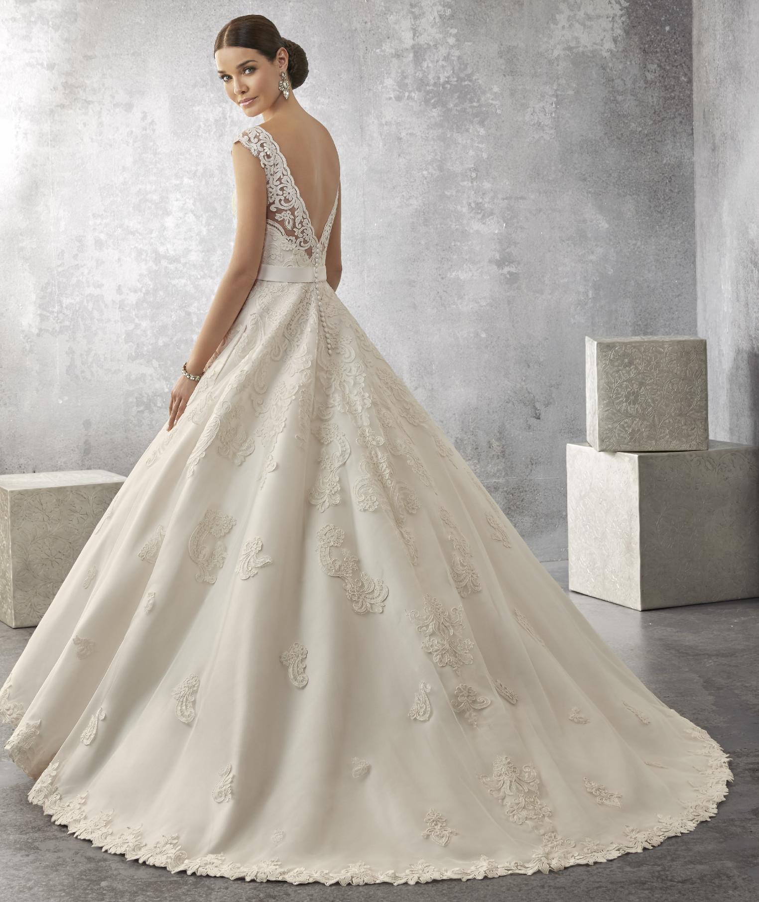 Νυφικό Φόρεμα, Ronald Joyce, Δαντέλα, Κεντημένη σε Micado,. Style,.69170
