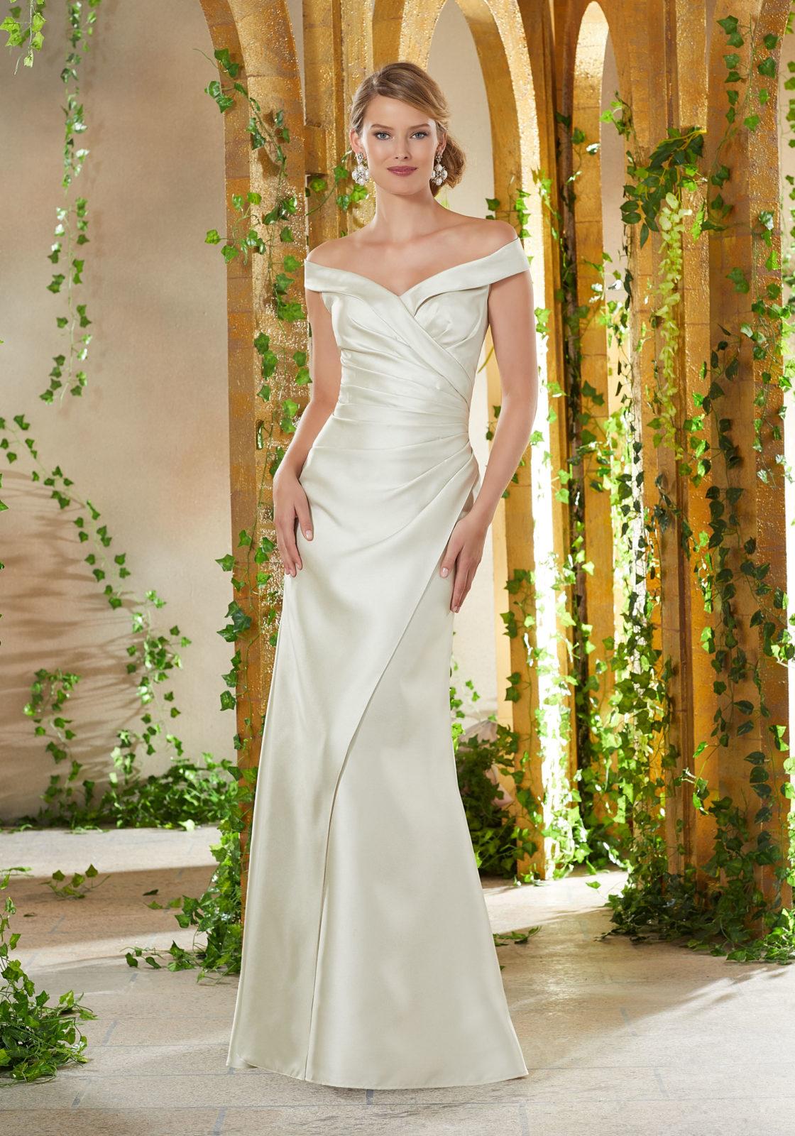 Νυφικό Φόρεμα, Morilee, Στενό,  Larissa Satin. Style, 71909