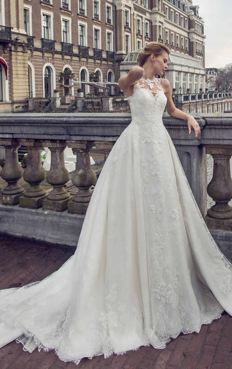 The perfect two in one wedding dress Style Ariane
