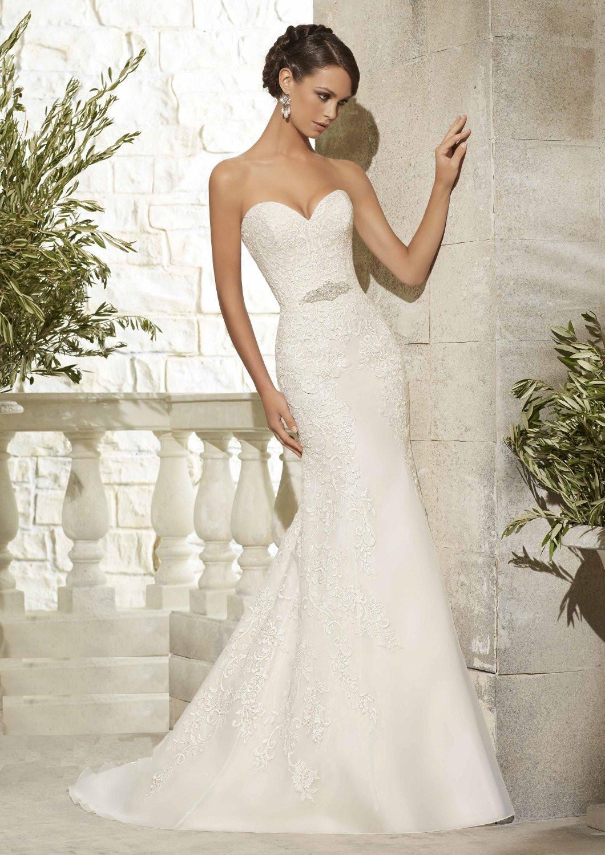 Νυφικό Φόρεμα, Morilee, Δαντέλα Κεντημένη, Mermaid. Style. 5307