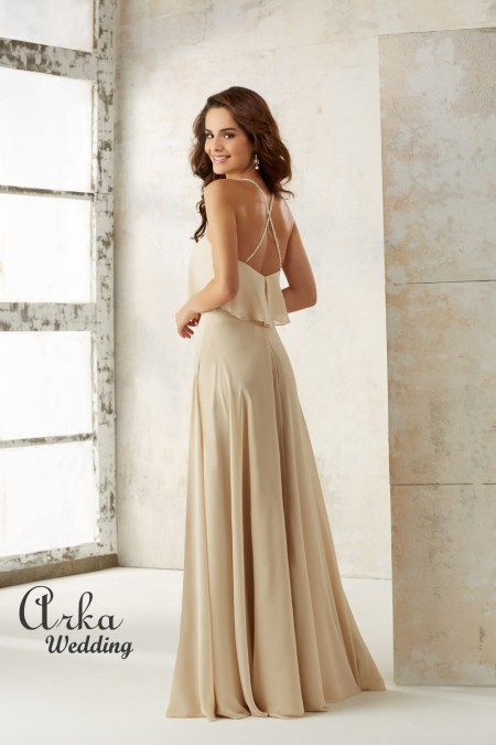 21507_Chiffon_A_Line_Dress _with _Beading-