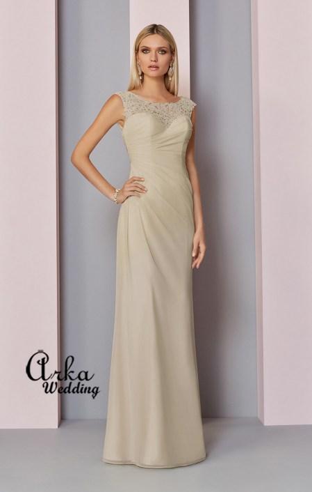 545b44af10d0 Βραδινό Φόρεμα Μακρύ Δαντέλα και Chiffon. Κωδ. 29317