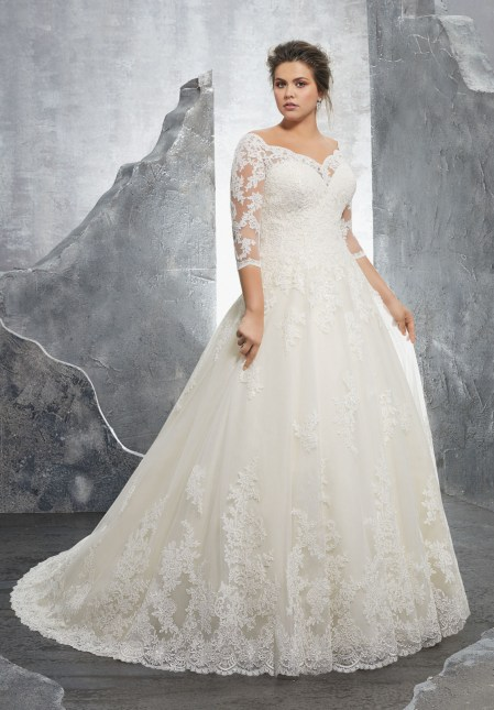 3235-Plus Size wedding dress Morilee, alençon lace-1.jpg_1