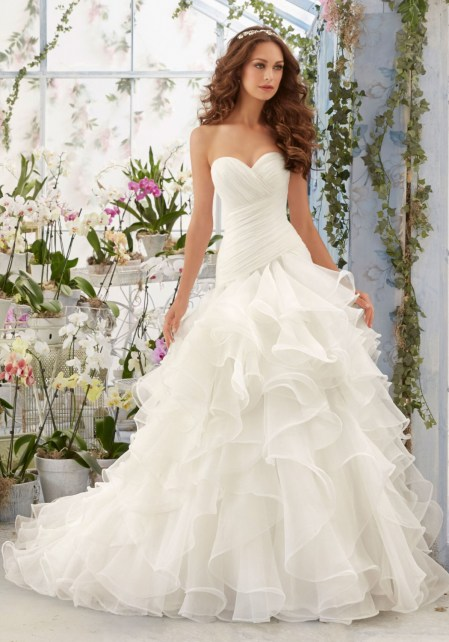 5412_Asymmetrically Draped and Flounced Organza Morilee Bridal Wedding Dress_22.jpg